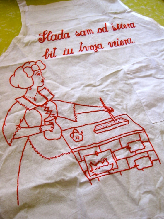 Croatian Apron