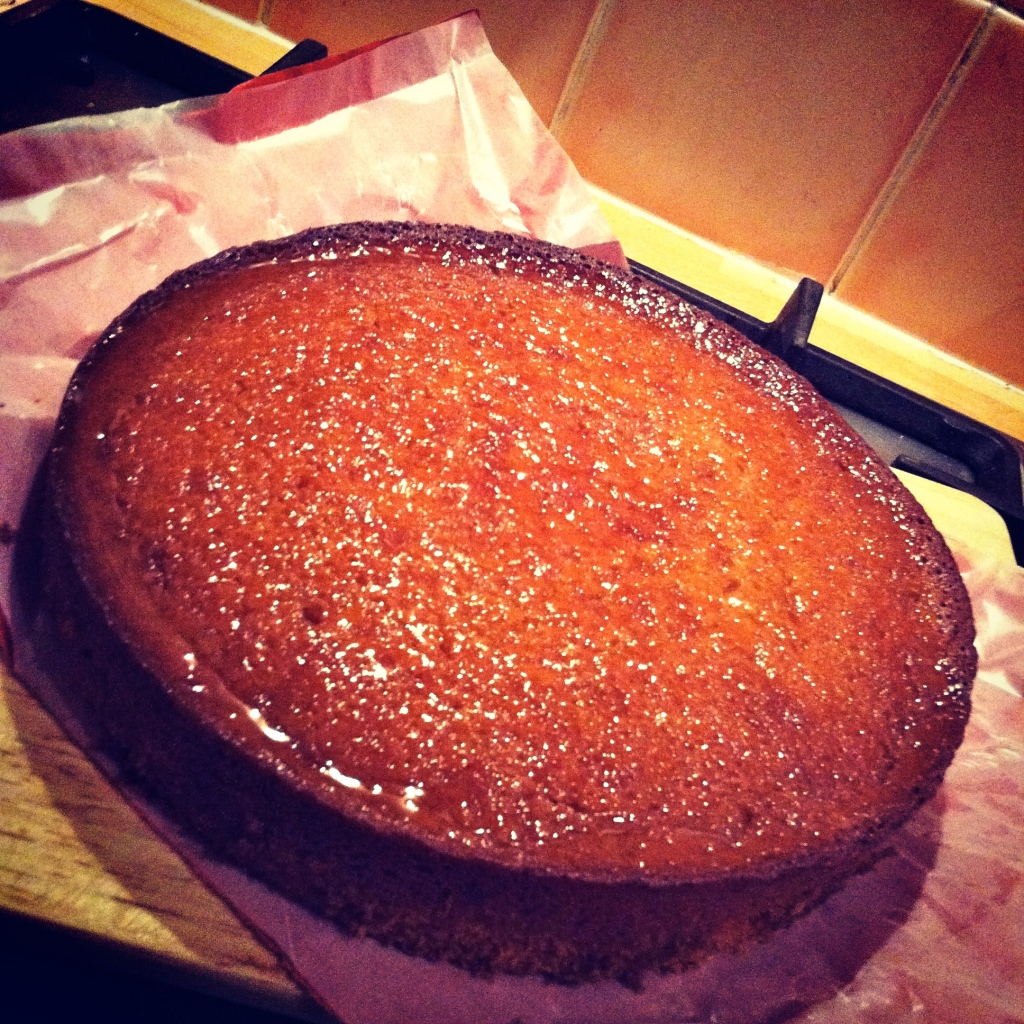 Golden Syrup Cake