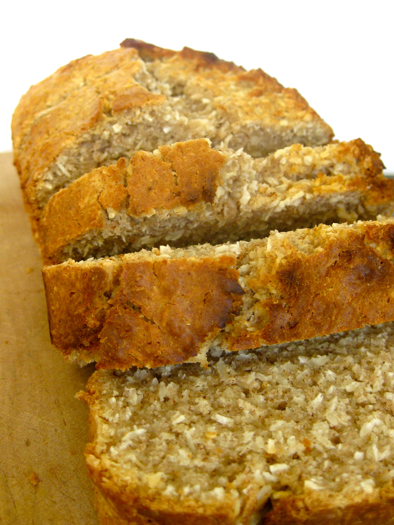 Bill's Jamaican coconut bread
